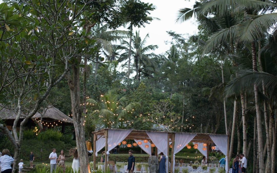 A Celebration at Kayu Manis Ubud, Bali